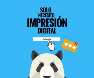 impresión digital en Cartagena