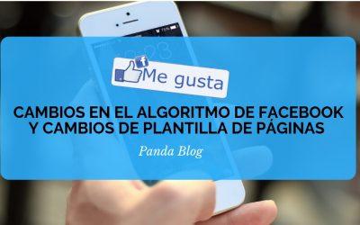 Cambios en el algoritmo de facebook
