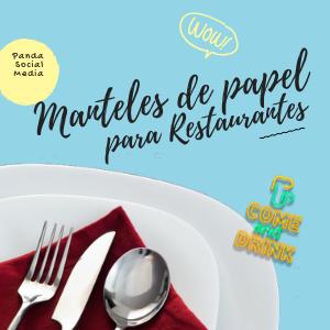 impresion de manteles de papel en Cartagena