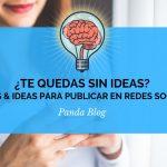 30 ideas para publicar en redes sociales