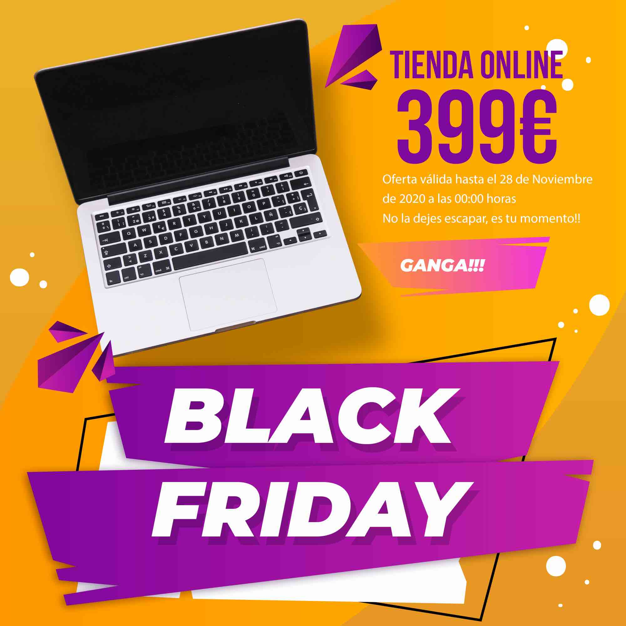 Black Friday marketing tienda online Cartagena