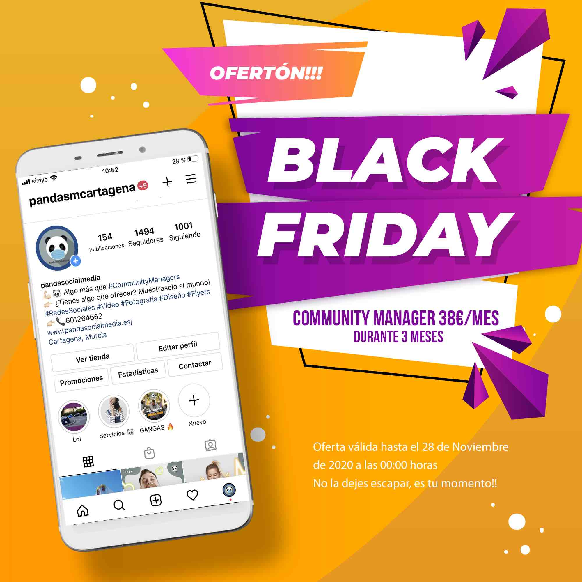 black friday marketing digital Cartagena