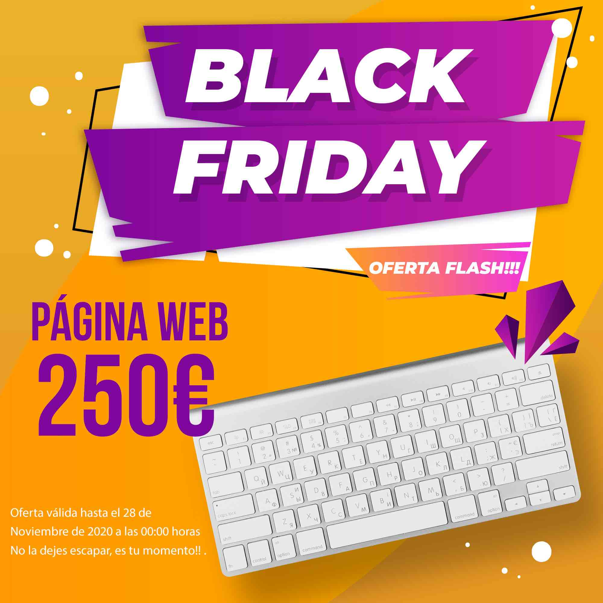 paginas web Cartagena Black Friday