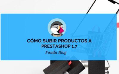 Cómo subir un producto a prestashop 1.7