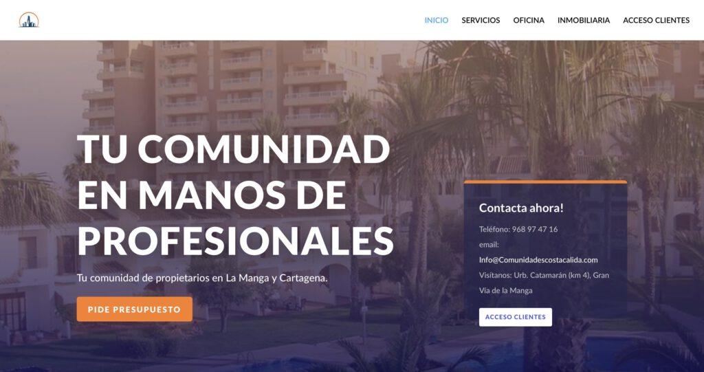 paginas web bartas en cartagena murcia