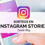 sorteo instagram historias