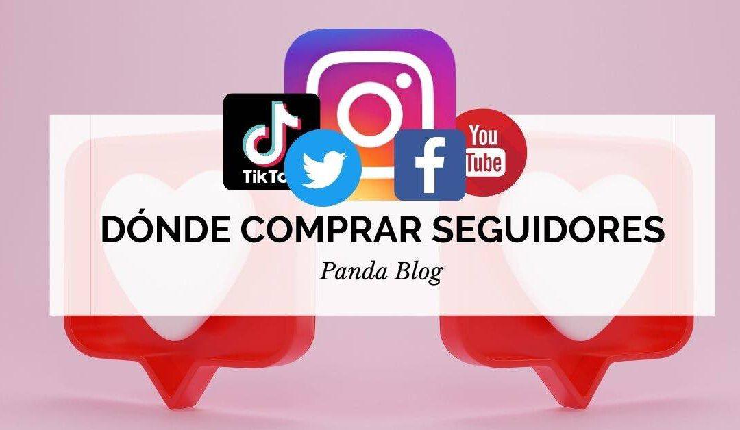Comprar seguidores Instagram, Facebook y otras redes sociales